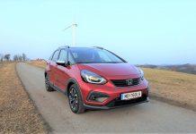 Der neue Honda Jazz Crosstar e:HEV 1.5 i-MMD Hybrid im Guten Tag Österreich Autotest (Bildquelle: Thomas Resch)