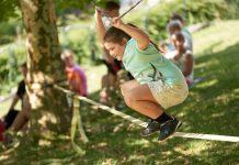 """Voller Einsatz beim """"Vorsorge Aktiv Junior""""-Sommercamp (Bildquelle: charakter.photos)"""