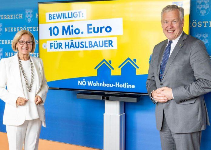 Landeshauptfrau Johanna Mikl-Leitner und Landesrat Martin Eichtinger geben weitere Impulse für den NÖ Wohnbau bekannt (Bildquelle: NLK/Filzwieser)
