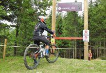 """Mit der Eröffnung der neuen, als """"schwarz/schwer"""" kategorisierten Downhill Line wurde das Angebot im Trail Park St. Corona für fortgeschrittene Mountainbiker verbessert. (Bildquelle: Thomas Resch)"""