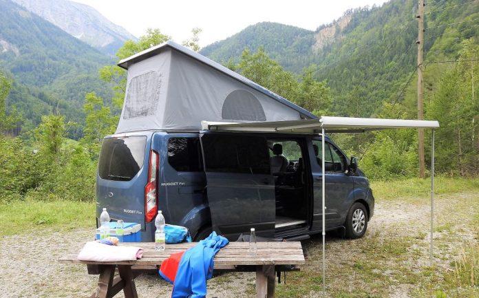 Der Ford Transit Custom Nugget Plus im Guten Tag Österreich Autotest (Bildquelle: Thomas Resch)